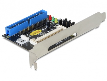 Cititor de carduri IDE 40 pini la Compact Flash, Delock 91624