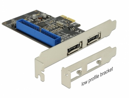 PCI Express la 2 x eSATA III + 1 x IDE, Delock 89292