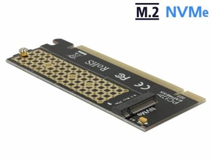 PCI Express x16 la un port NVMe M.2 Key M pentru Server 1U, Delock 90300