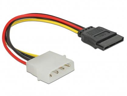 Cablu de alimentare SATA la Molex M-T 12cm, Delock 60100