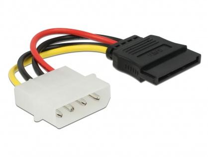 Cablu de alimentare SATA la Molex M-T 6cm, Delock 60112