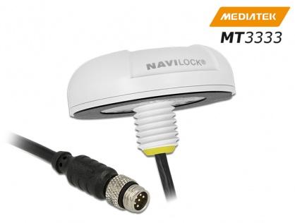 NL-3332 M8 Serial Multi GNSS Receiver MT3333 0.5m, Navilock 60327