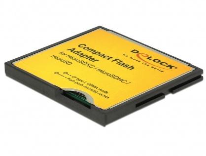 Adaptor Compact Flash tip I la Micro SD, Delock 61795