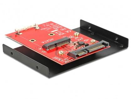 """Adaptor SATA 22 pini la mSATA + frame 3.5"""", Delock 62415"""