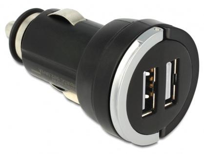Incarcator auto 2 x USB 3A, Navilock 62515