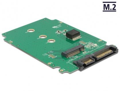 Convertor SATA 22 pini la M.2 NGFF, Delock 62521