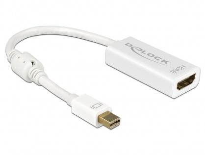 Adaptor mini Displayport la HDMI T-M 1.2 4K Pasiv Alb, Delock 62614