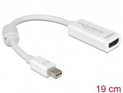 Adaptor mini Displayport la HDMI pasiv Alb T-M, Delock 65128