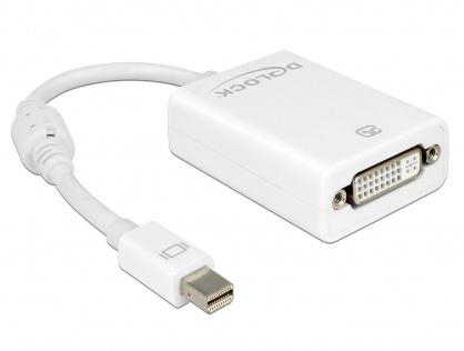 Adaptor mini Displayport la DVI 24+5 pasiv Alb T-M, Delock 65129