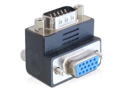 Adaptor VGA T-M 90 grade, Delock 65289