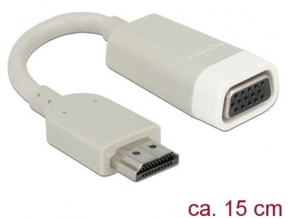 Adaptor HDMI la VGA T-M, Delock 65469