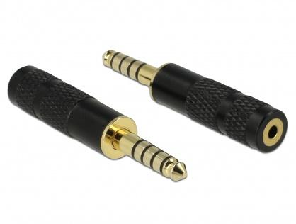 Adaptor Stereo jack 4.4 mm 5 pini la jack stereo 2.5 mm 4 pini T-M, Delock 65897