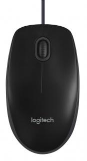 Mouse Logitech B100 Optical USB negru
