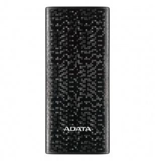 Baterie externa P10000 10000mAh, 2 x USB, 4 x LED Negru, ADATA AP10000-DUSB-CBK