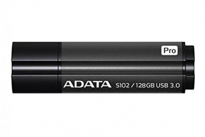 Stick USB 3.0 128GB ADATA S102 Pro Grey
