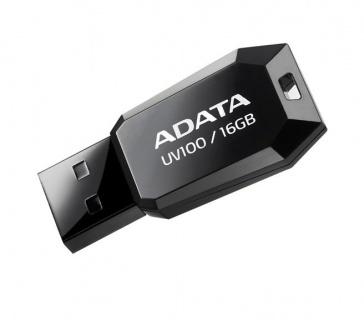 Stick USB 2.0 fara capac 16GB UV100 Negru, ADATA