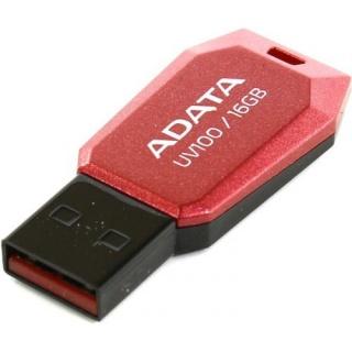 Stick USB 2.0 fara capac 16GB UV100 Rosu, ADATA