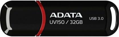 Stick USB 3.0 cu capac 32GB UV150 Negru, ADATA