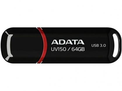 Stick USB 3.0 cu capac 64GB UV150 Negru, ADATA