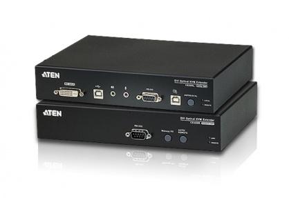 Extender KVM Optic DVI max 600m, Aten CE680