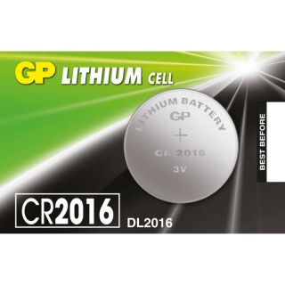 Baterie Litiu CR2016 3V, GP Batteries