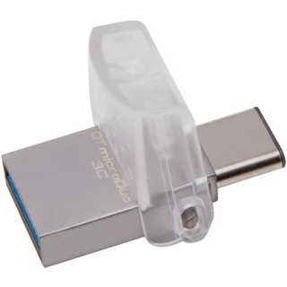 Stick USB 3.0 32GB DATA TRAVELER microDuo 3C OTG USB-A + USB-C, Kingston DTDUO3C/32GB