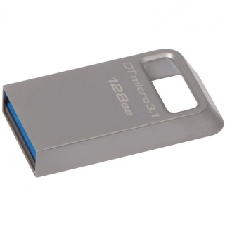 Stick DataTraveler Micro 128GB USB 3.1/3.0, Metal, Kingston