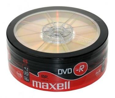 DVD-R 4.7GB 16x 25buc Maxell