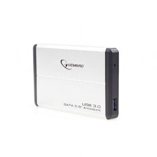 "Rack extern 2.5"" pentru HDD SATA cu USB 3.0 Argintiu, Gembird EE2-U3S-2-S"