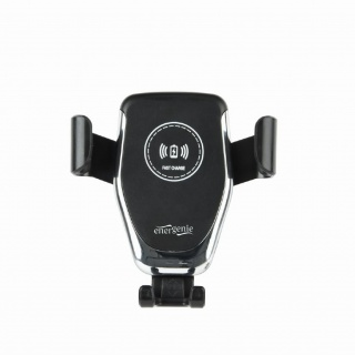 Suport auto cu incarcare rapida wireless 10W, Gembird EG-TA-CHAV-QI10-01