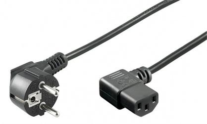 Cablu de alimentare PC C13 230V unghi 90 grade 3m