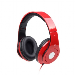 Casti stereo Detroit Red, Gembird MHS-DTW-R