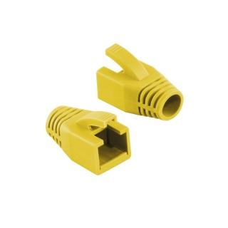 Manson cablu retea diametru max 8mm galben, Logilink MP0035Y