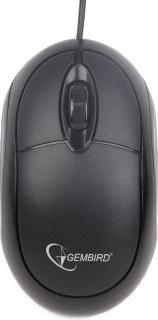 Mouse USB optic Negru, Gembird MUS-U-01