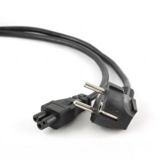 Cablu de alimentare Schuko la C5 Mickey Mouse 2.5m Negru, Gembird PC-186-ML12-2.5M