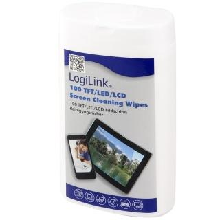 Servetele curatare ecrane LogiLink 100buc, RP0010