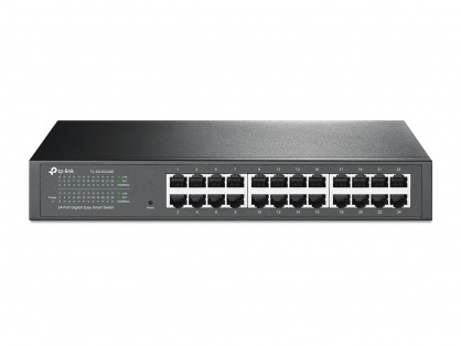 Switch Easy Smart 24 porturi Gigabit, TP-LINK TL-SG1024DE