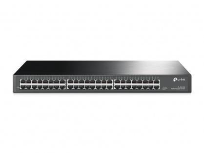 "Switch 48 porturi Gigabit, carcasa metalica, rack 19"", TP-LINK TL-SG1048"