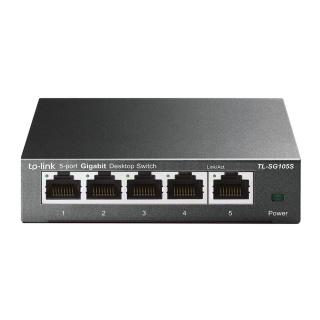 Switch 5 porturi Gigabit, TP-LINK TL-SG105S
