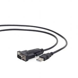 Cablu USB la serial RS232 1.5m, GEMBIRD UAS-DB9M-02