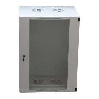 "Cabinet perete 19"" 9U 540X450mm Gri deschis, Logilink W09F64G"