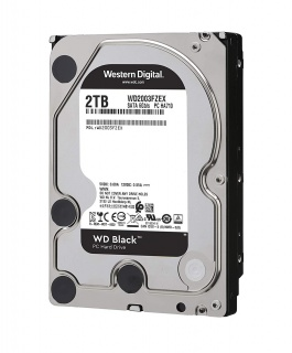 Hard disk 2TB 7200 64MB SATA3 WD BLACK, WD2003FZEX