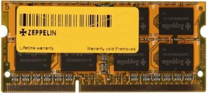 Memorie Zeppelin Notebook SODIMM 4GB DDR3 1333MHz Bulk