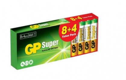 Set 12 buc baterie R3 AAA, GP Batteries