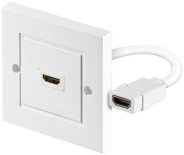 Priza perete cu un port HDMI