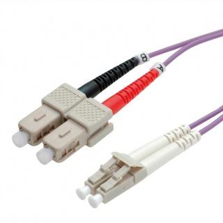 Cablu fibra optica LC-SC OM4 duplex multimode 1m, Value 21.99.8761