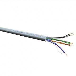Cablu retea UTP Cat.6 Solid AWG23 300m, halogen-free, Roline 21.15.1789
