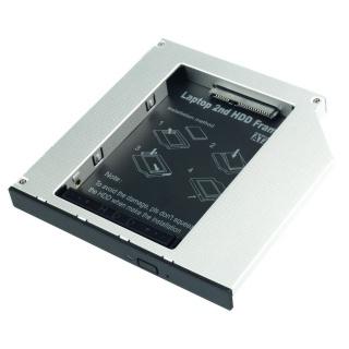 """Installation Frame (Caddy) Slim SATA 5.25 pentru 2.5"""" SATA HDD 12.7mm, Lindy L20963"""