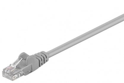 Cablu retea UTP cat 5e 0.25m Gri, SPUTP002