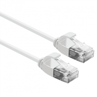 Cablu de retea Slim cat 6A UTP LSOH 5m Alb, Roline 21.15.0985